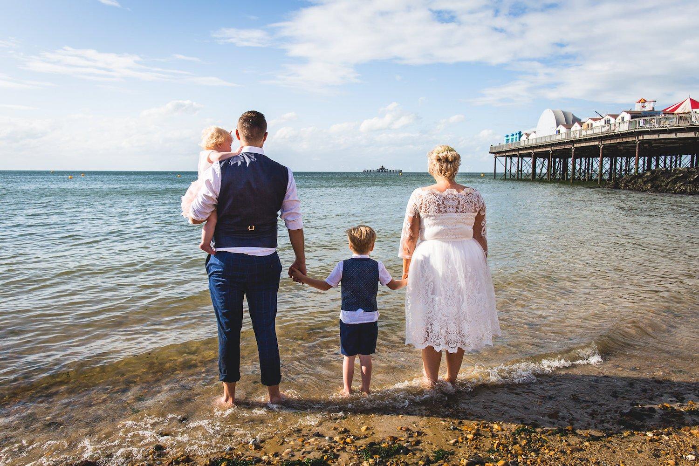 beach hut wedding ceremonies