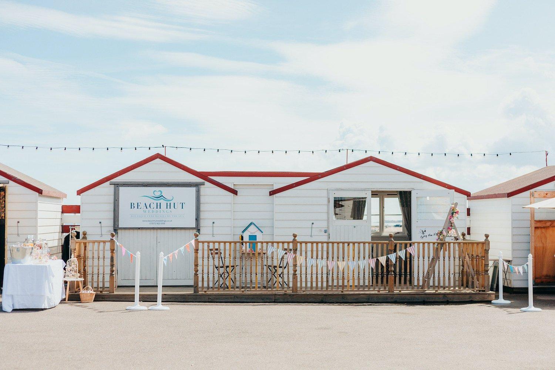 Beach Hut Wedding Venue in Herne Bay